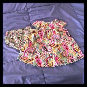 Vera Bradley dress and diaper cover